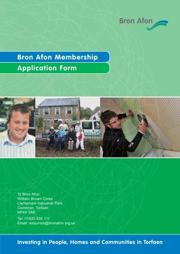Bron Afon Membership Application Form