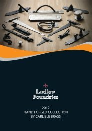 Hand Forged Collection - Architectural Hardware Direct