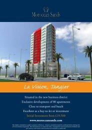 La Vision, Tangier - Morocco Property