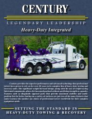 Heavy-Duty Integrated - Miller Africa | Towing Equipment