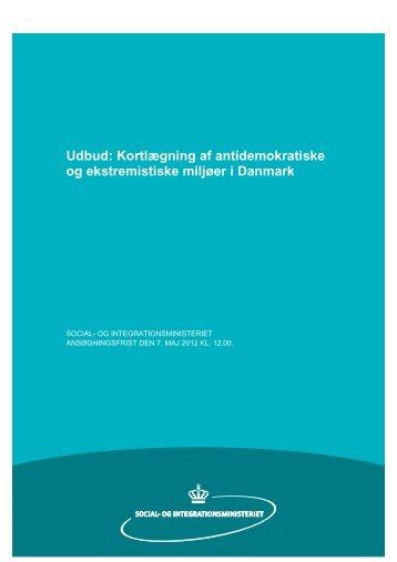 Kortlægning af antidemokratiske og ekstremistiske miljøer i ... - Social