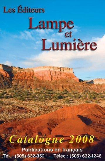 Catalogue Les Éditeurs Lampe et Lumiére- pdf - El Cristianismo ...