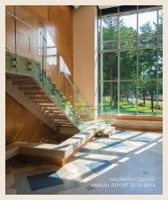 Nazareth College Annual Report 2011–2012
