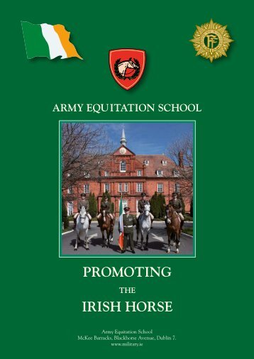 PROMOTING IRISH HORSE - Defence Forces