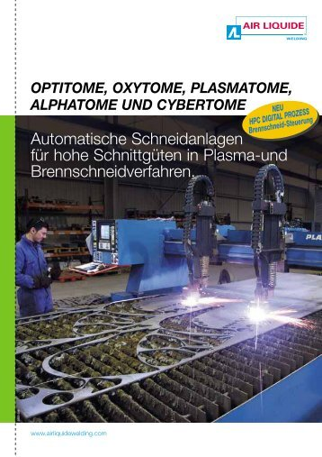 Automatische Schneidanlagen für hohe Schnittgüten in Plasma-und ...
