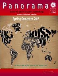 Spring Semester 2012 - Center for Global Education & Exchange