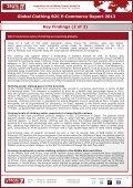 GLOBAL CLOTHING B2C E-COMMERCE REPORT 2013 - yStats.com - Page 3