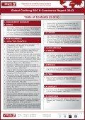 GLOBAL CLOTHING B2C E-COMMERCE REPORT 2013 - yStats.com - Page 4