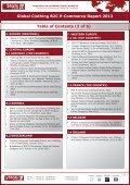 GLOBAL CLOTHING B2C E-COMMERCE REPORT 2013 - yStats.com - Page 5