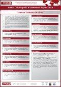 GLOBAL CLOTHING B2C E-COMMERCE REPORT 2013 - yStats.com - Page 7