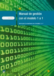 Manual de gestión con el modelo 1 a 1 - Biblioteca de Libros Digitales