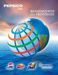 RENDIMIENTO CON PROPÓSITO - PepsiCo
