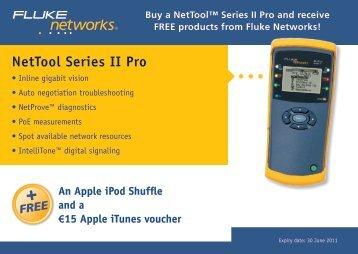 NetTool Series II Pro - FLUKE TESTERY.CZ