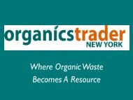 Where Organic Waste Becomes A Resource - Reuse Alliance