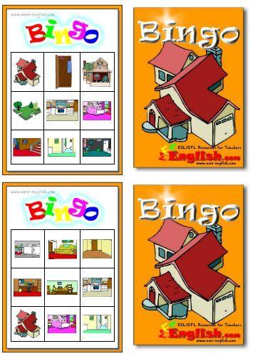 bingo cards - MES English