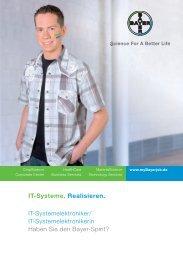 IT-Systemelektroniker - Bayer AG - mybayerjob.de