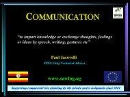 COMMUNICATION - SPGS