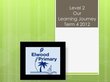 Our Learning Journey - Elwood Primary School