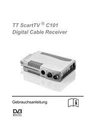 Bedienungsanleitung (PDF) - TechnoTrend Görler TechnoTrend ...