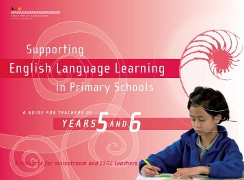 Years 5 and 6 (PDF 935 KB) - ESOL - Literacy Online