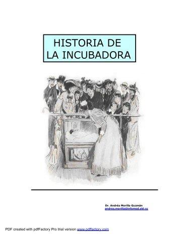 historia de la incubadora pdf - Infomed