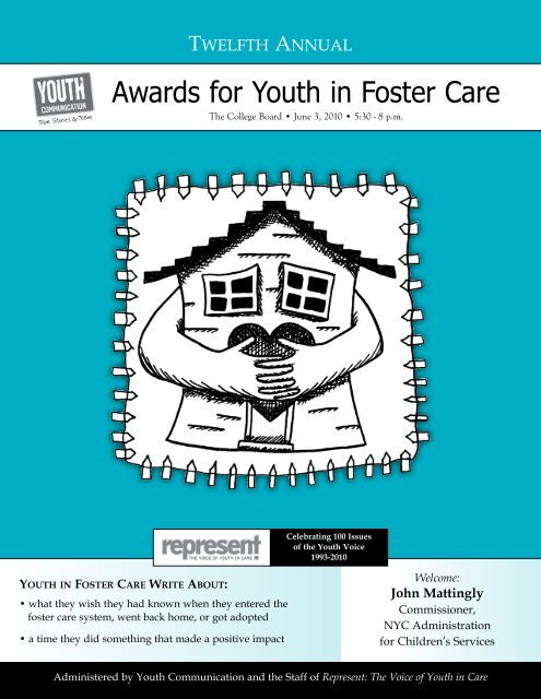 Awards for Youth in Foster Care - Youth Communication