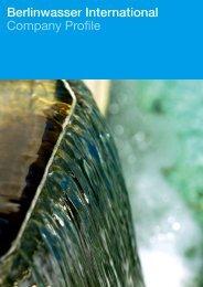 Berlinwasser International Company Profile