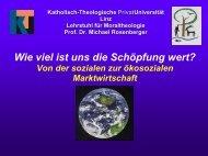 1. Das Klimaproblem – Zeichen der Zeit