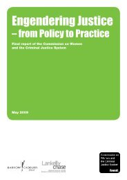 Engendering Justice - from Policy to Practice - The Fawcett Society