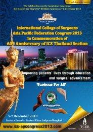 Details - Asia Pacific Federation Congress 2013 International ...
