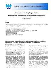 Ausgabe I 2006 - Verband Bayer. Rechtspfleger e.V.