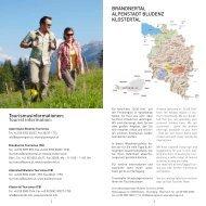 Wanderzeit - Urlaub in der Alpenregion Bludenz