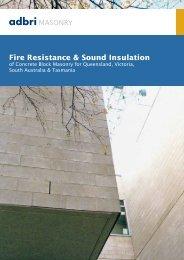 Fire Resistance & Sound Insulation - Thewebconsole.com