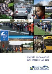 Waikato CDEM Group Evacuation Plan - Waikato civil defence and ...