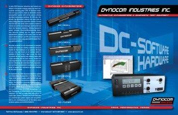 DC Hardware & Software Brochure - Dynocom Industries