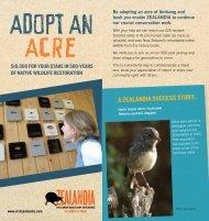 Download brochure (PDF) - Zealandia