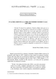 UN ACERCAMIENTO A LA OBRA DE FEDERICO RUBIO Y GALI ...