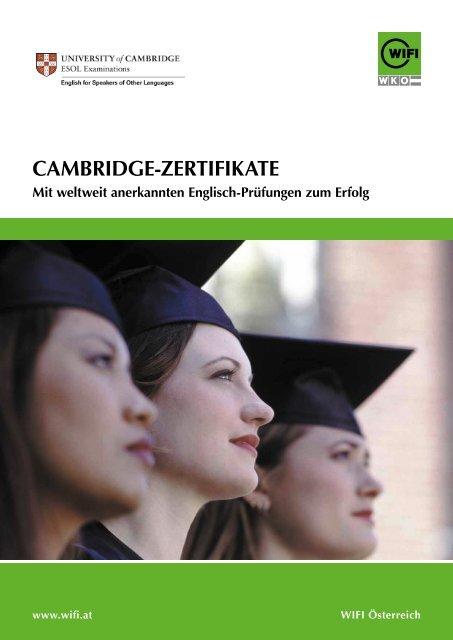 Cambridge-Zertifikate