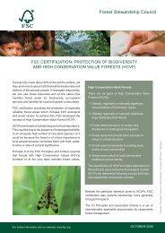 FS - HCVF and biodiversity EN.indd