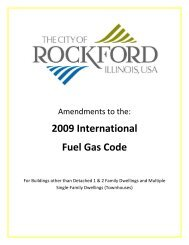 2009 International Fuel Gas Code - the City of Rockford