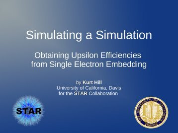 Simulating a Simulation