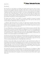 Letter from the Headmaster - Rydal Penrhos School