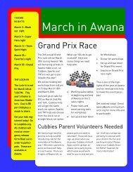 March in Awana - Loop Kids