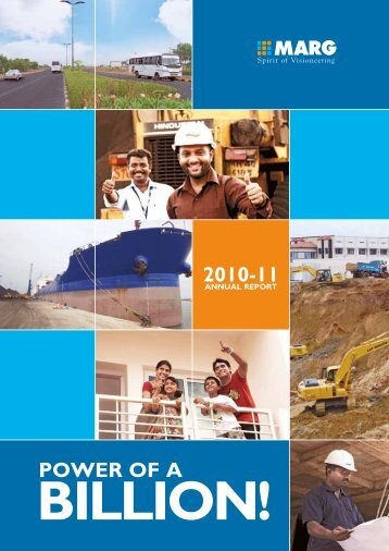 Annual Report 2010 - MARG Group