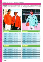 PROGUARD SAFETY PRODUCTS CATALOG Wo r k w e a r
