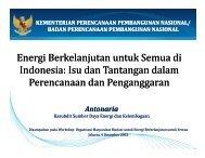 Energi Berkelanjutan untuk Semua di Indonesia: Isu dan ... - IESR