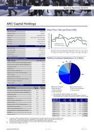 ARC Capital Holdings Ltd