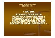 Cas du plan communal de développement de Bamako