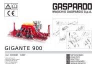 GIGANTE 900 - Maschio Deutschland GmbH