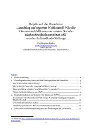 """Replik auf die Broschüre """"Anschlag auf unseren ... - Christian Rüther"""